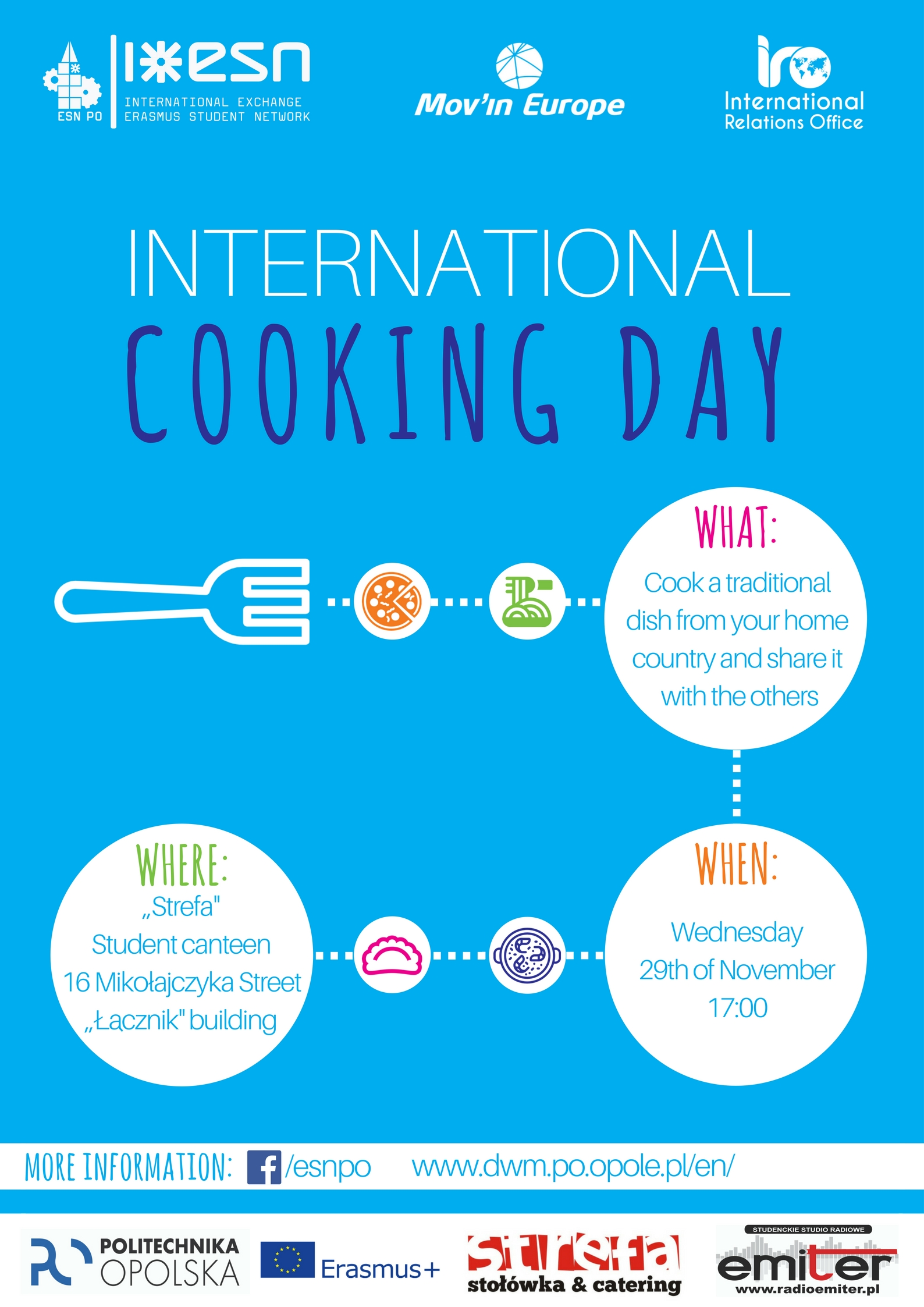 cooking day poster